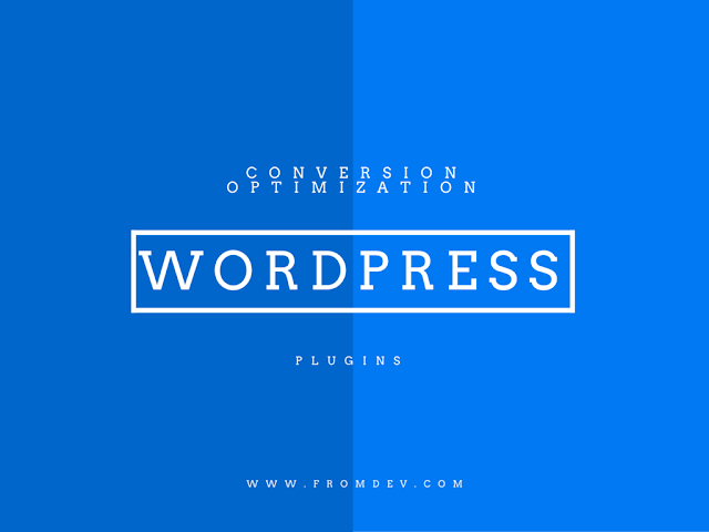 List of best WordPress Conversion Optimization Plugins