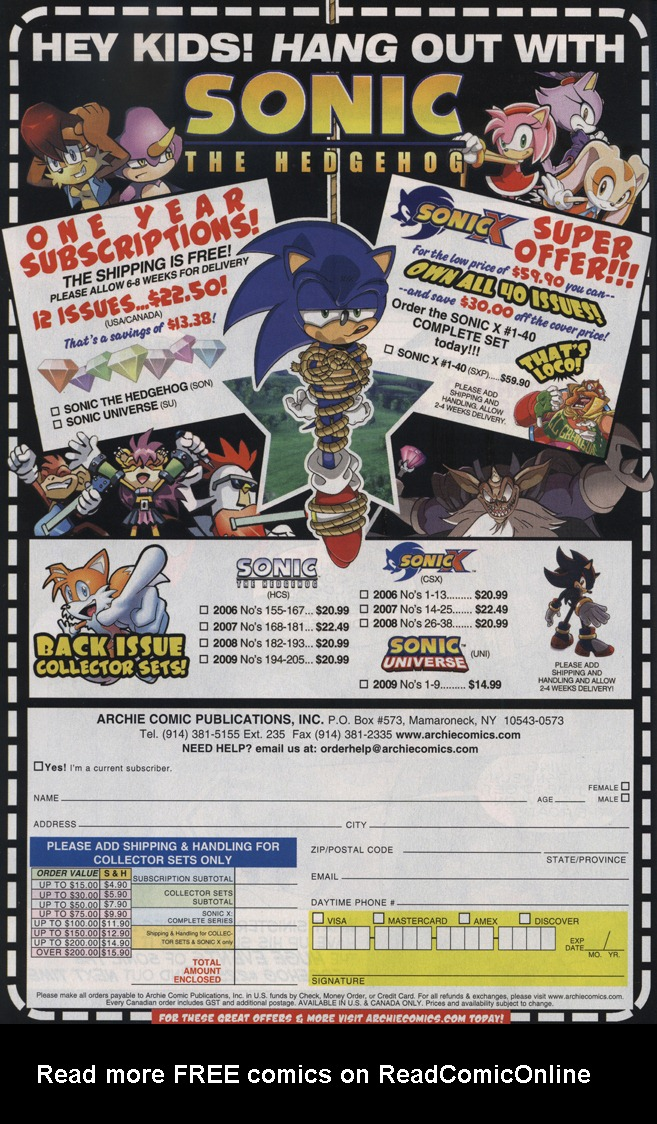 Read online Sonic The Hedgehog comic -  Issue #223 - 32