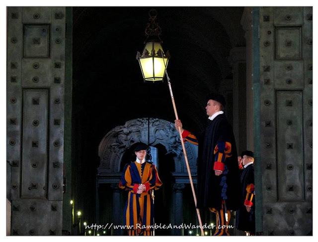 The Swiss Guards, St. Peter's Basilica, Vatican City, Vatican
