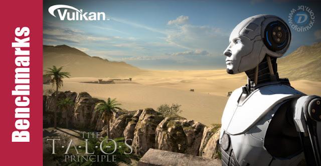Benchmarks com Vulkan and Tales of Principle