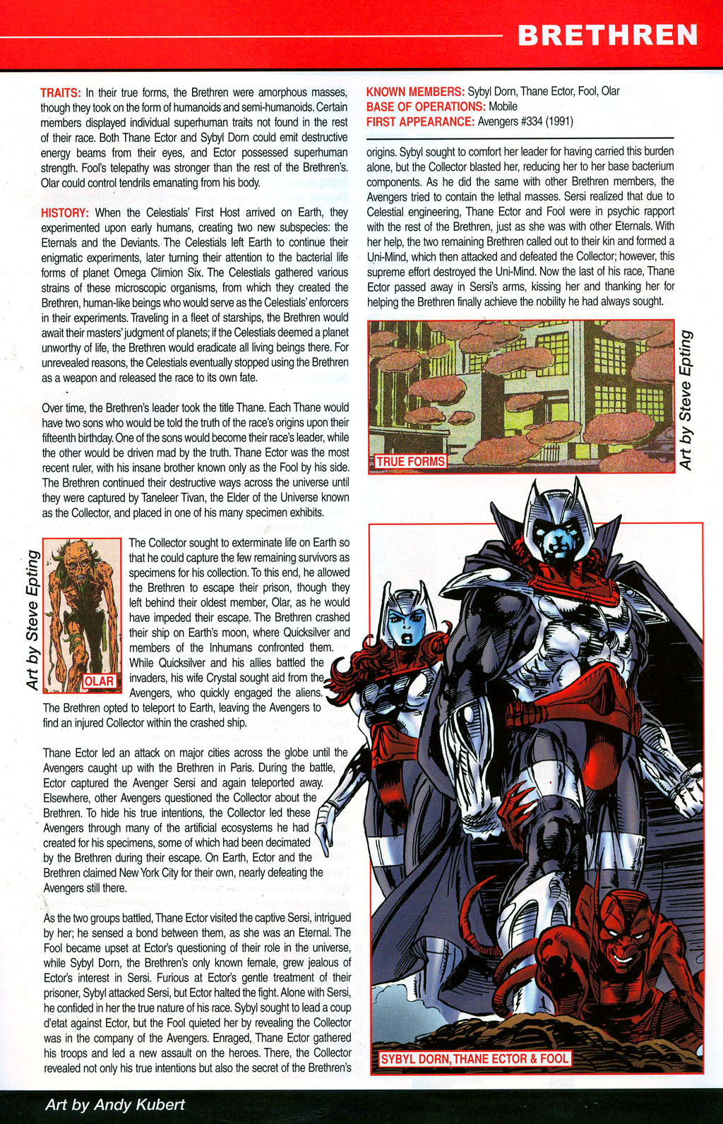 Read online All-New Official Handbook of the Marvel Universe A to Z: Update comic -  Issue #3 - 9