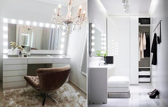 Blog de mbar muebles si ntete como una estrella de - Espejos de tocador con luz ...