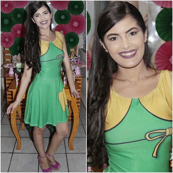 festa do chaves fantasia chiquinha