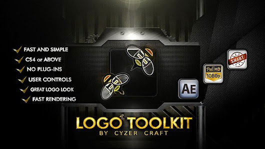 Descriptive Logo Toolkit - Hi-tech Packshot - After Effects Project (VideoHive)