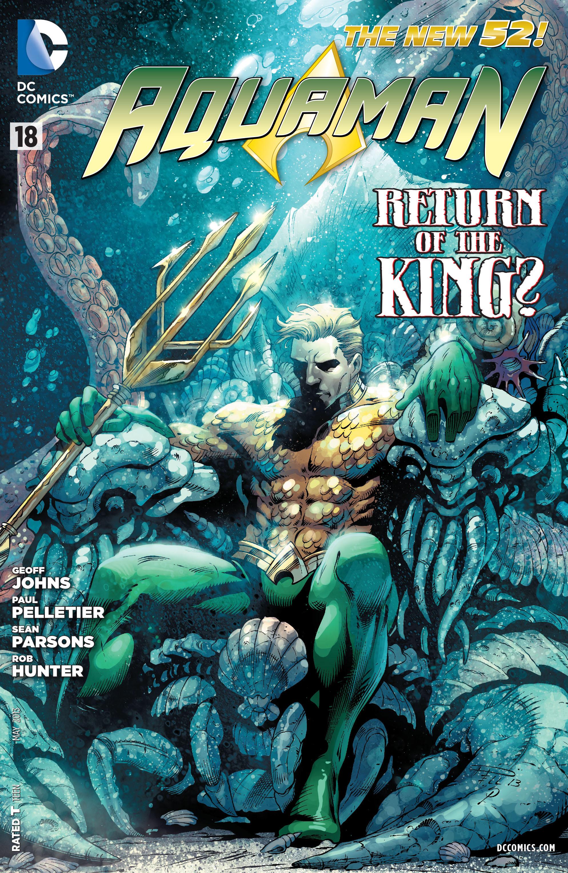 Read online Aquaman (2011) comic -  Issue #18 - 1