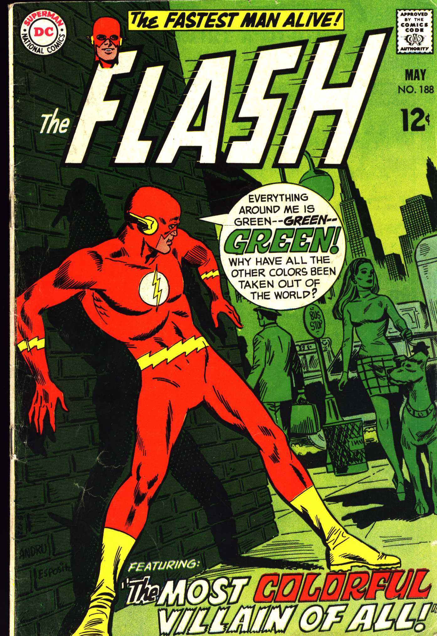The Flash (1959) 188 Page 1
