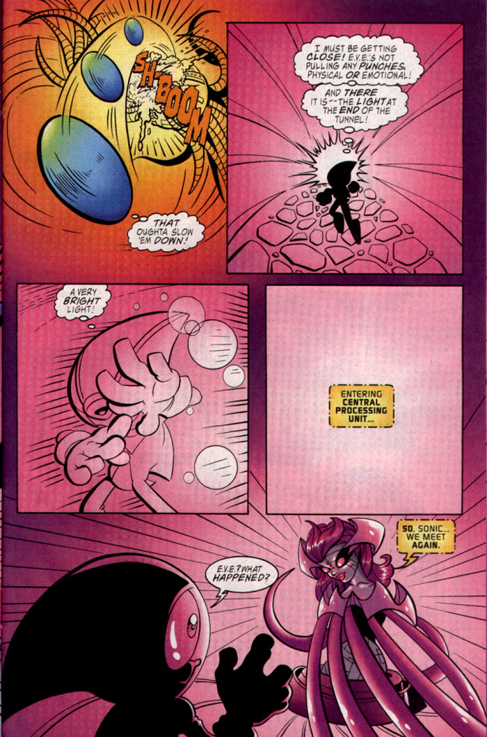 Read online Sonic The Hedgehog comic -  Issue #128 - 20
