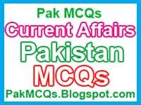 Pakistan Current Affairs MCQs - SameStudy