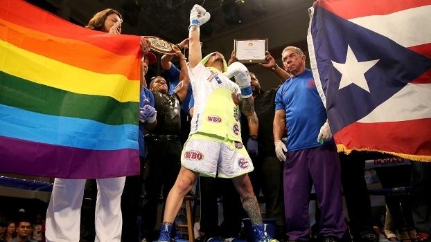 Portorriquenho pode se tornar hoje o 1º campeão gay do boxe