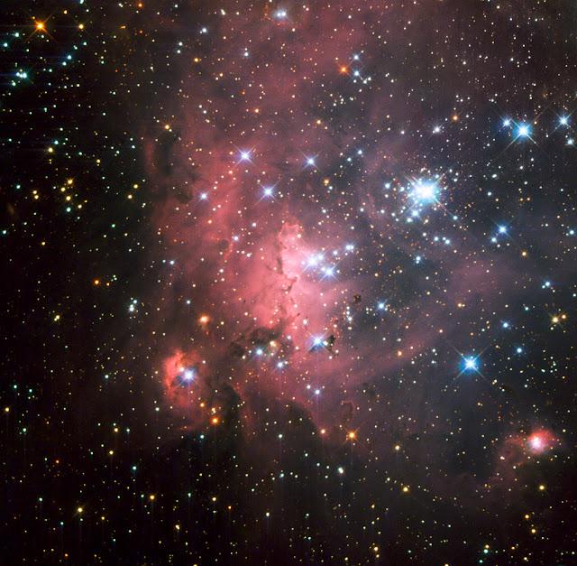 Star-Forming Region LH 72