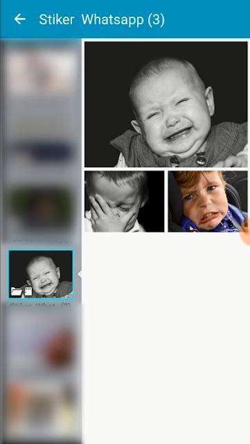 Tutorial Membuat Stiker Whatsapp Menggunakan Foto Sendiri 7