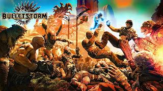 Bulletstorm PS3 Wallpaper