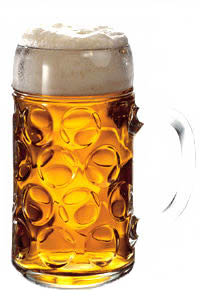 Jarras de cervezas alemanas