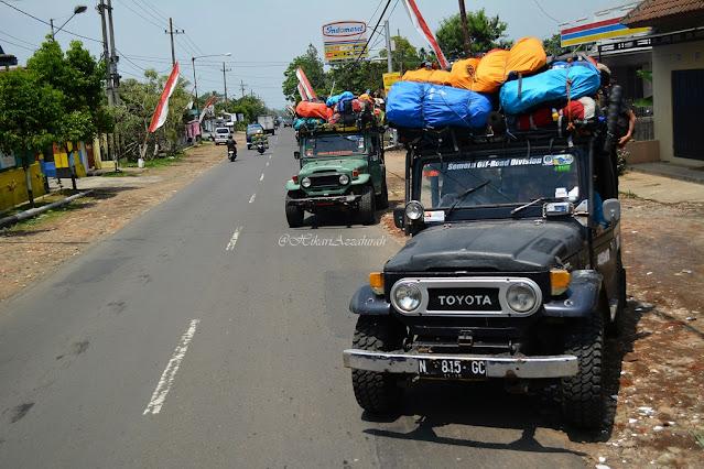 jeep indomaret tumpang ranupani