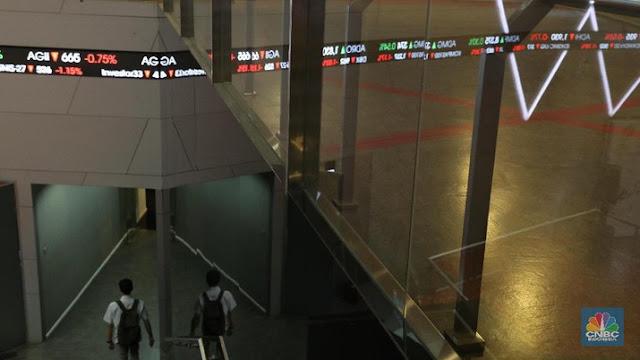 Galau, Asing Bawa Dana Keluar Rp 50,16 T dari Bursa Saham RI