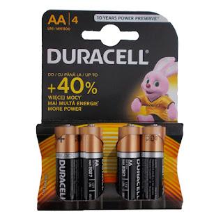 batterie duracell aa stilo
