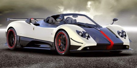 Most expensive car in the world Pagani Zonda Cinque Roadster