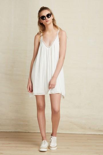 fdb65929c vestido de la tienda online Plns vestido blanco de tirantas juvenil