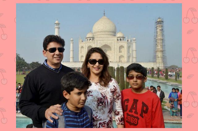 Madhuri Dixit Family pics