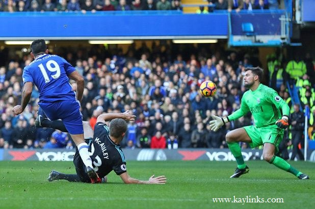 Diego Costa scored the winner against a stubborn West Brom at Stamford Bridge.