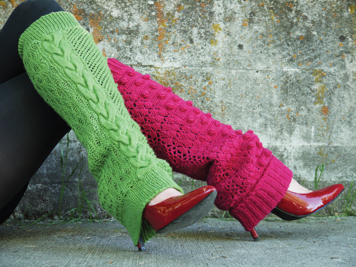 Christmas Knitted Jumpers Patterns : Miss Julias Patterns: Free Patterns - 25 Luscious Leg Warmers to Knit &a...