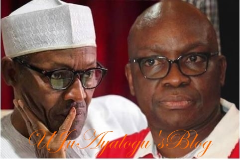 Buhari blaming everybody, including himself for his failure – Fayose