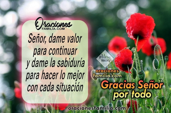 Oración diaria, oración para la mañana por Mery Bracho, oraciones cristianas pidiendo un buen día y la bendición de Dios.