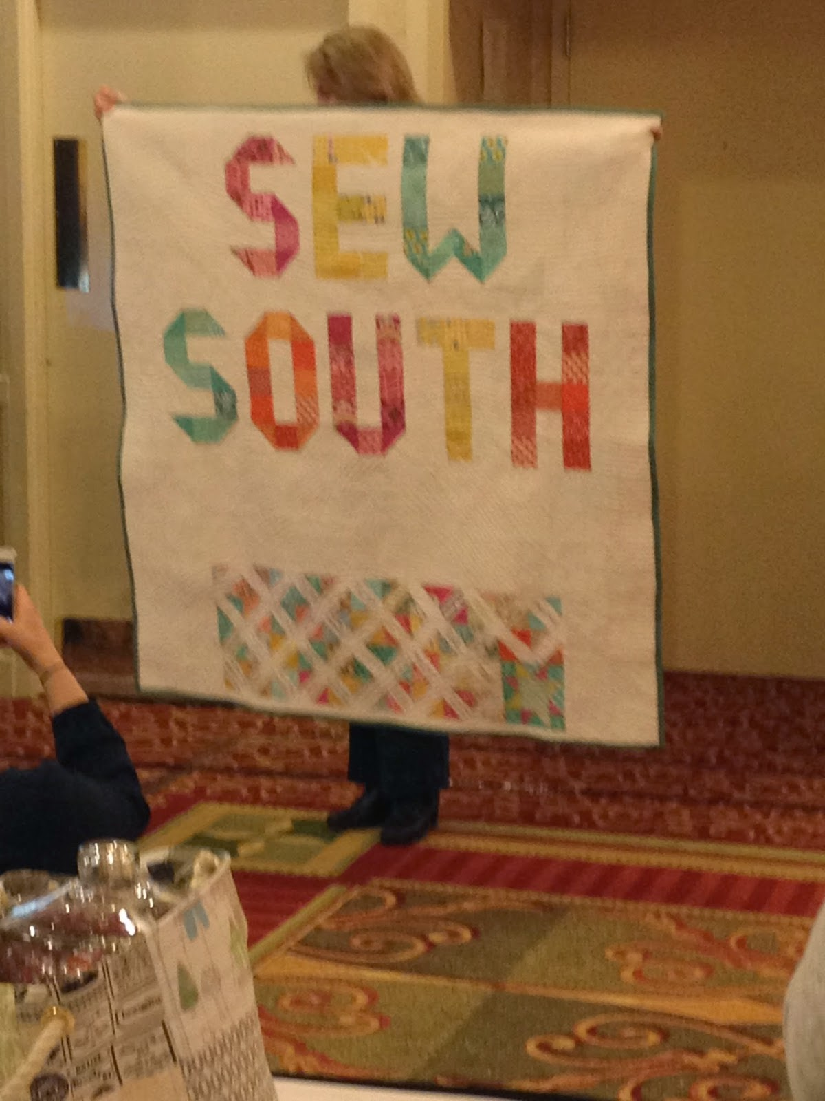 Sew South quilt