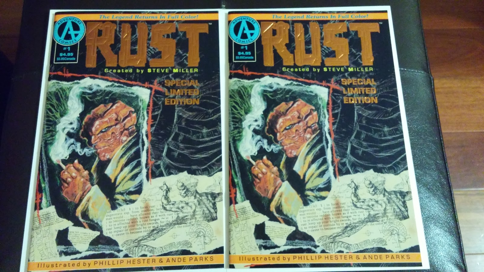 Comic Book Picker: $1 bin pick up - Rust #1 Special Edition