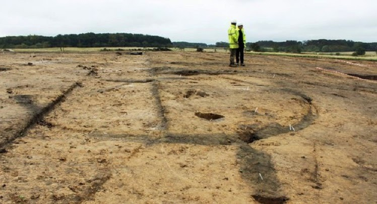 Iron Age settlement found at UK mining site