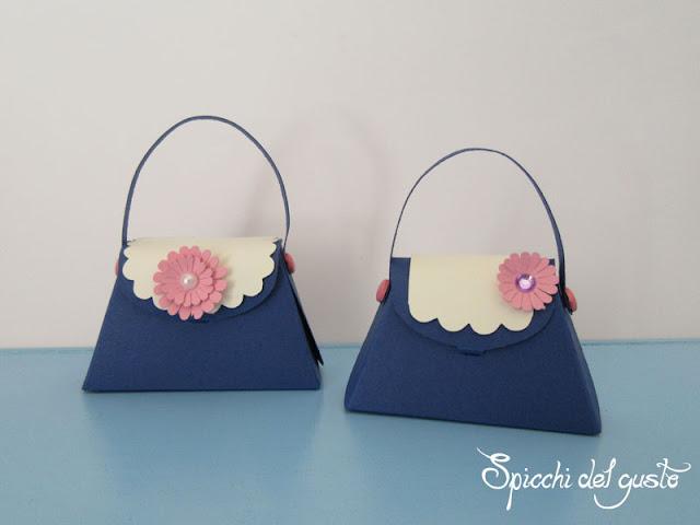 bomboniere borsetta per iniziativa kreattiva