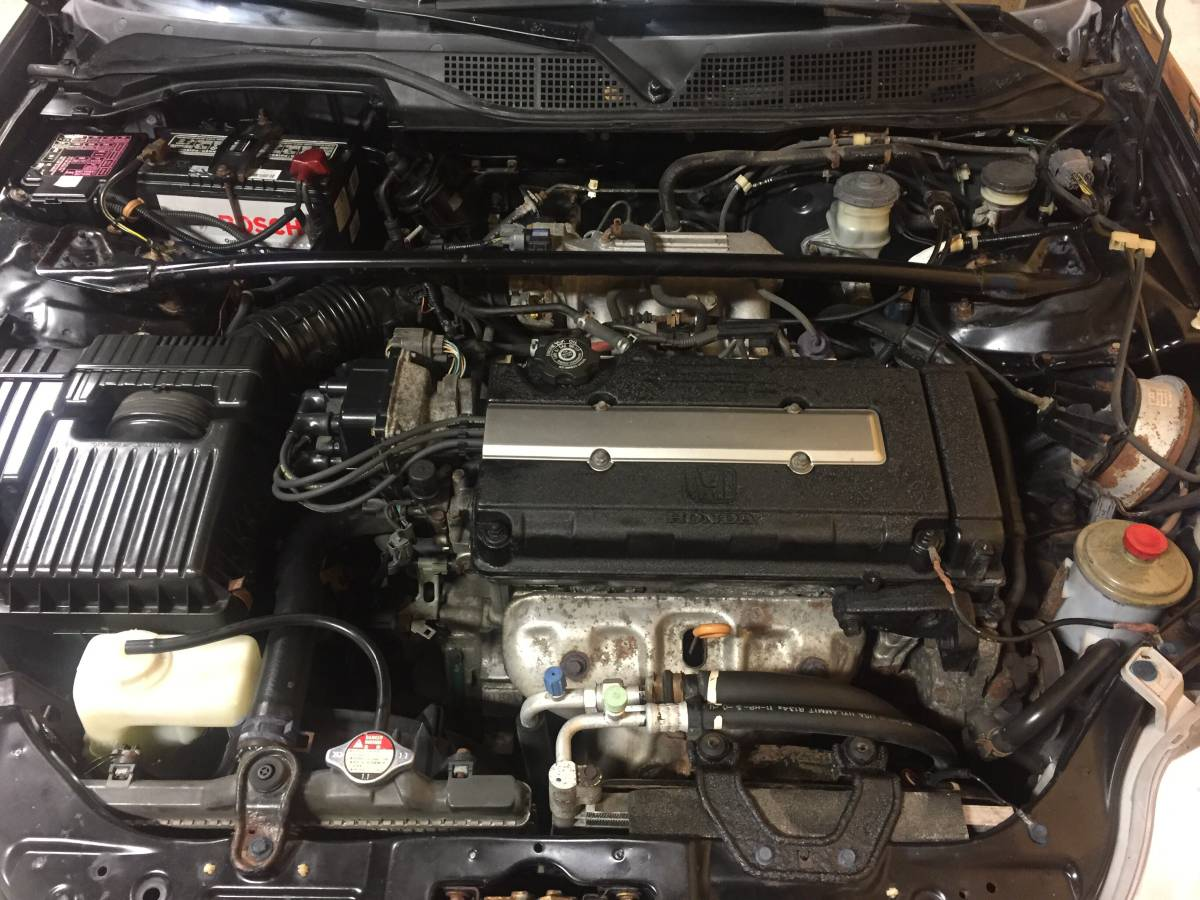 Daily Turismo: 100% stock- 2000 Honda Civic Si