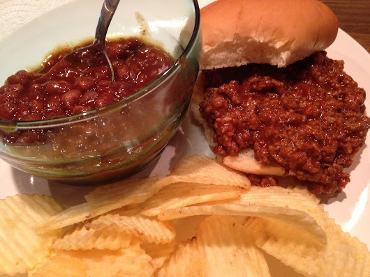 Sloppy Joes and Sexed up beans