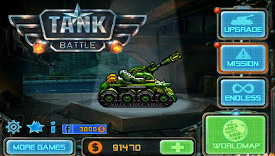 Hack tiền trong game tank battle