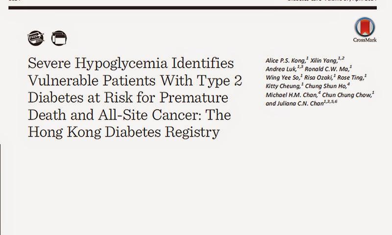 hipoglucemia severa diabetes tipo 2