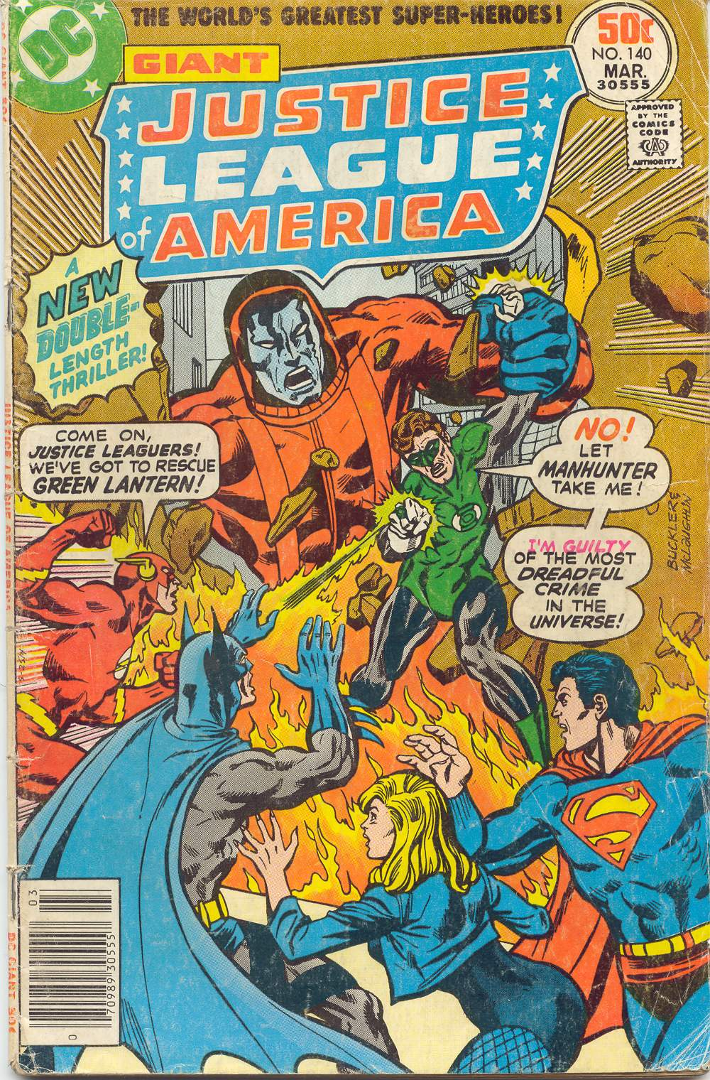 Justice League of America (1960) 140 Page 1