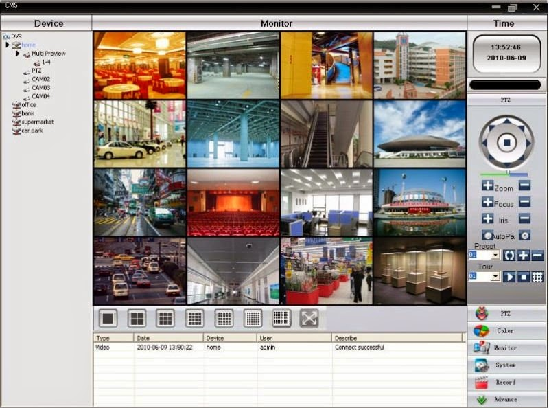 Download CMS Software Multiple DVR