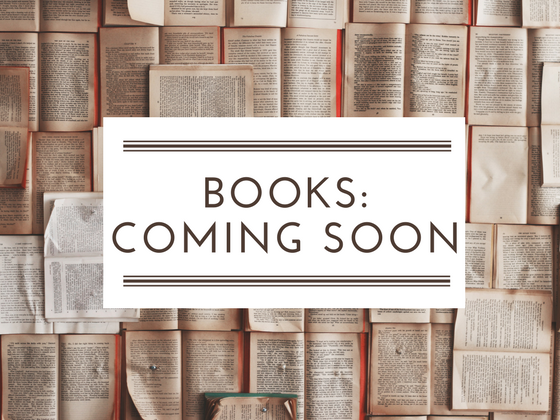 Books: Coming soon!