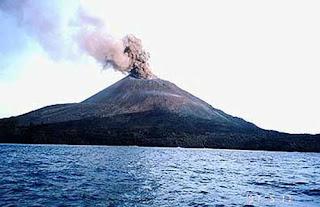 خط زمني لبركان ما