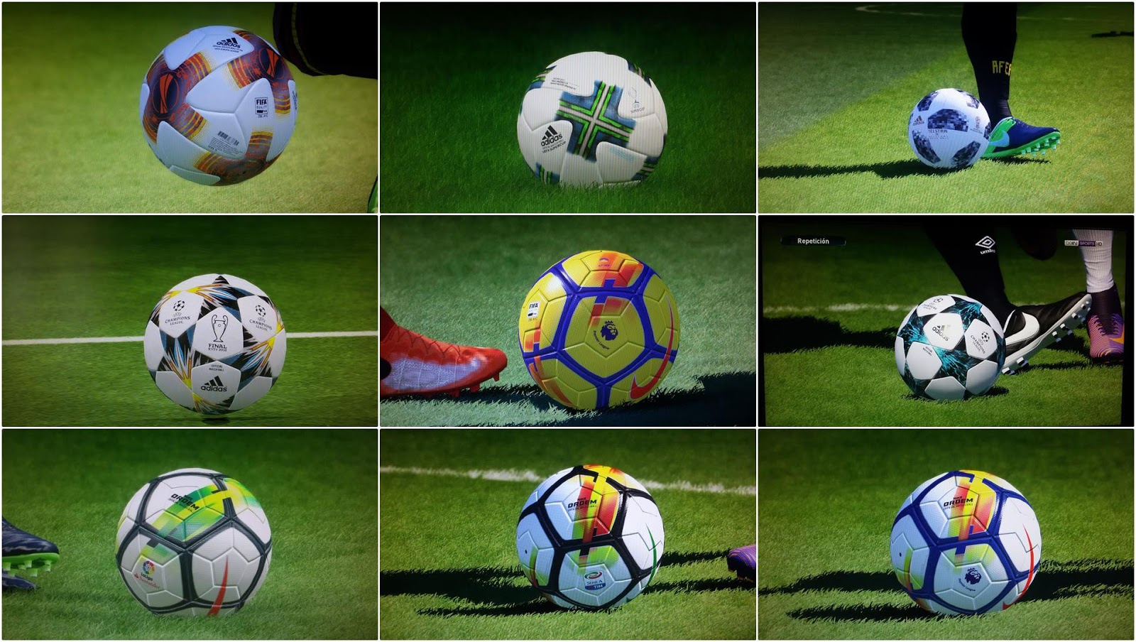 PES 2017 Ballpack P1 by danyy77