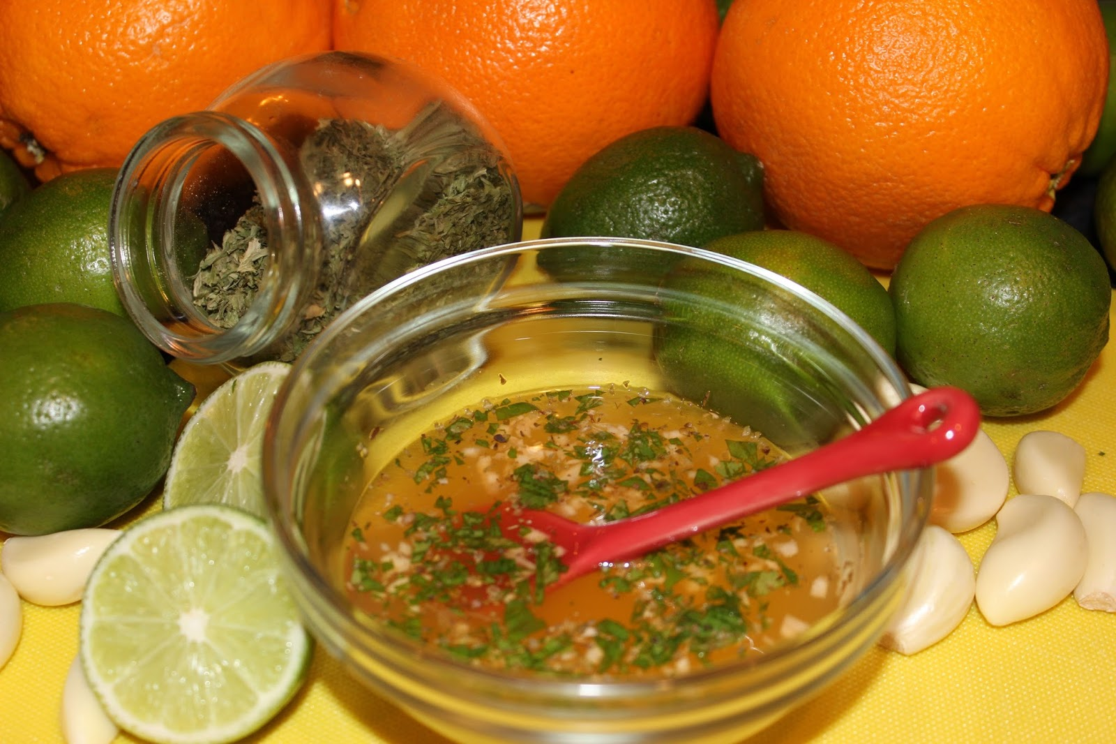 Orange And Mango Mojo Marinade