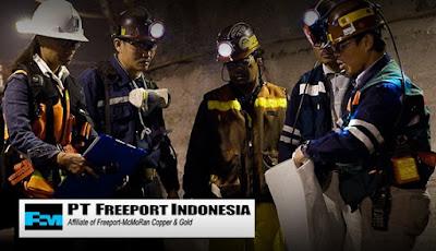 Lowongan Kerja PT Freeport Indonesia (Banyak Posisi) Hingga Mei 2017