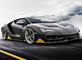 Lamborghini Centenario LP 770-4 Cencept Front Angles