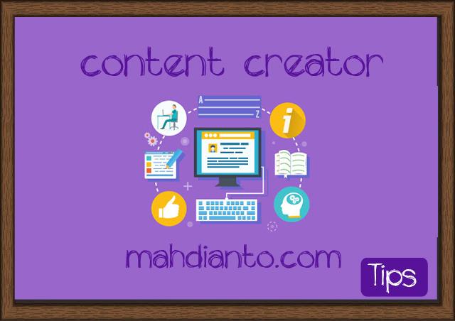 Tips memulai usaha sampingan sebagai content creator