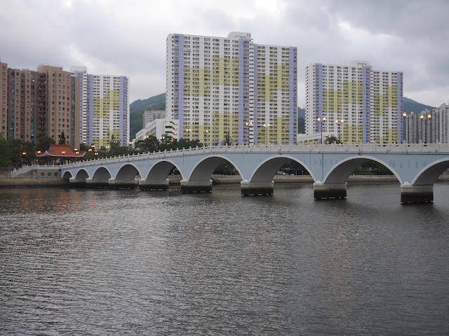 Lek Yuen Bridge (瀝源橋) in Sha Tin, Hong Kong