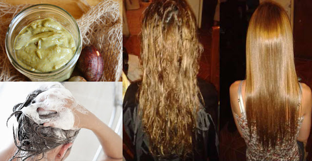 See How To Straighten Hair Within 1 Hours By Using 2 Ingredients Naturally