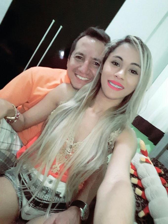 DESTAQUE SOCIAL: Professor Jucimar em companhia da esposa Larissa Alves que aniversariou em grande estilo