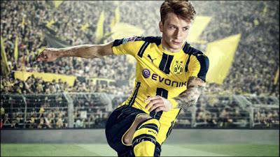 FIFA 17 - מרקו רויס יככב על אריזת המשחק