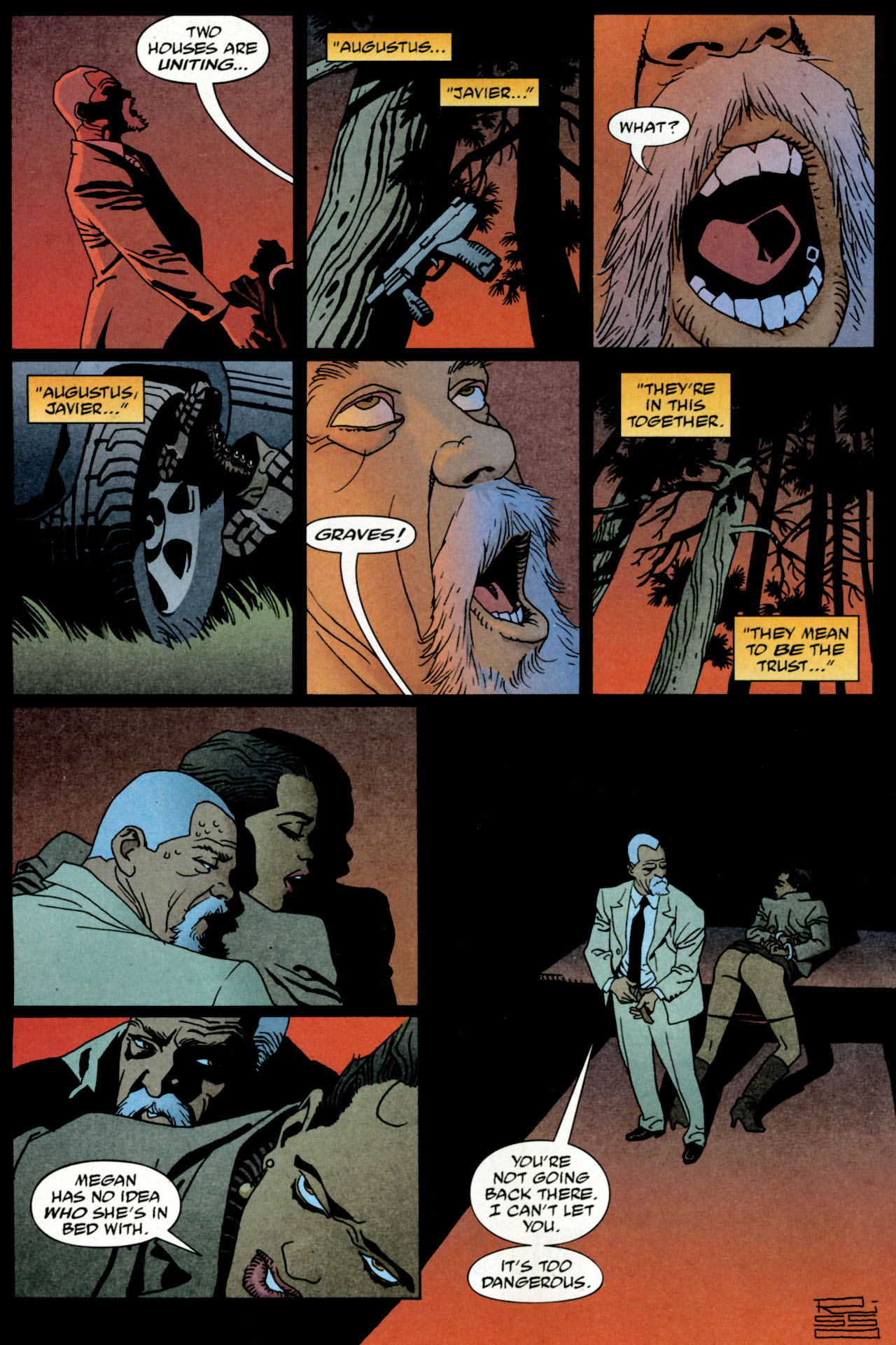 Read online 100 Bullets comic -  Issue #84 - 17