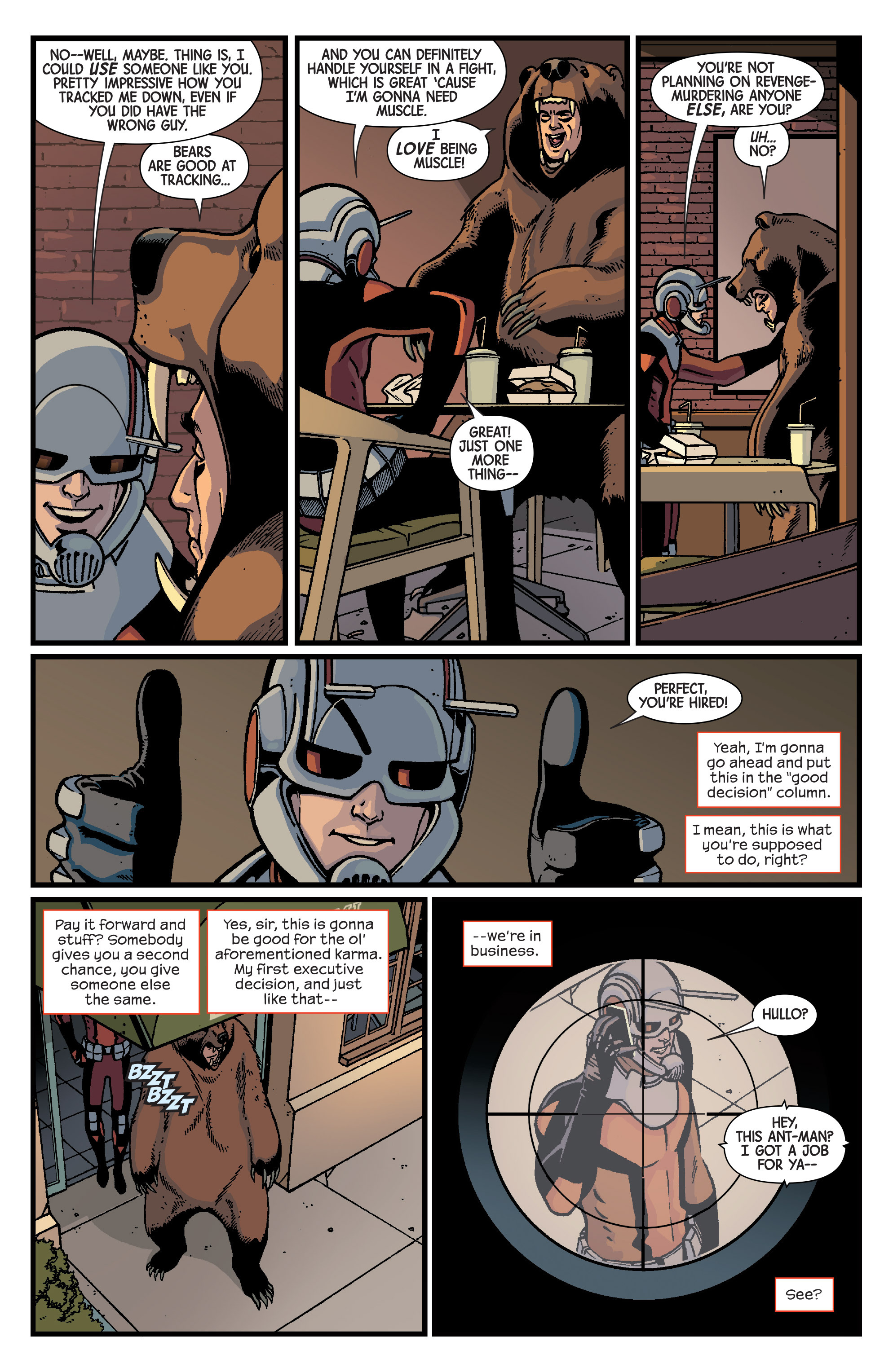 Read online Ant-Man comic -  Issue #2 - 21